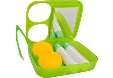 Estuche Kit de Viaje Verde