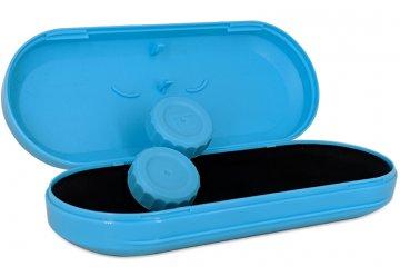 Estuche Gafas Lentillas Azul