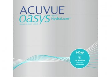 Acuvue Oasys 1 Day with HydraLuxe 90pk