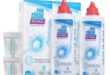 Ever Clean Scleral Set Económico (2x300ml)